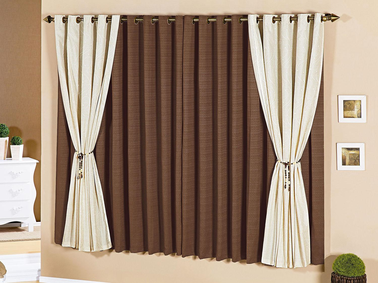 Cortinas koloratex for Ganchos para cortinas de madera